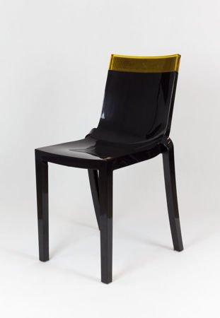SK Design KR009 Schwarz Stuhl