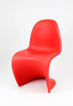 SK Design KR017 Rot Stuhl Matt