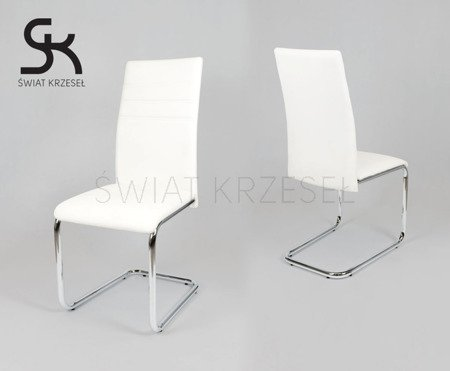 SK DESIGN KS024 WEISS Kunsleder Stuhl
