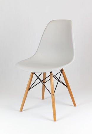 SK Design KR012 Hellgrau Stuhl Buche