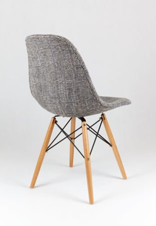SK Design KR012 Polster Stuhl Lawa05, Buche Beine