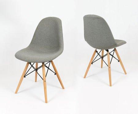 SK Design KR012 Polster Stuhl Malaga06, Buche Beins