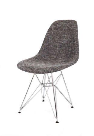 SK Design KR012 Polster Stuhl lawa17, Chrom Beine