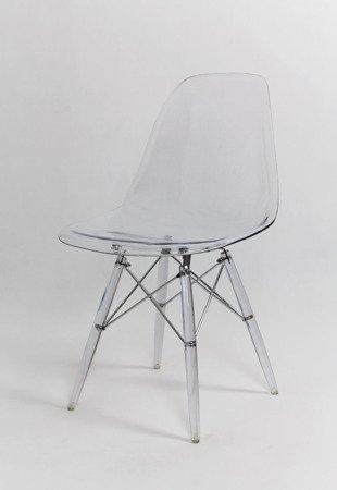SK Design KR012 Transparent Stuhl Clear