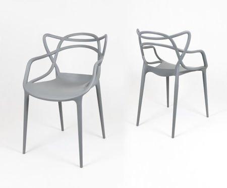 SK Design KR013 Grau Stuhl