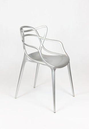 SK Design KR013 Silver Stuhl
