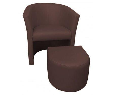Venge CAMPARI Sessel mit Fußstütze