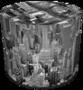 SKP BERTONI DEKORATIV PUFF NEW YORK HD