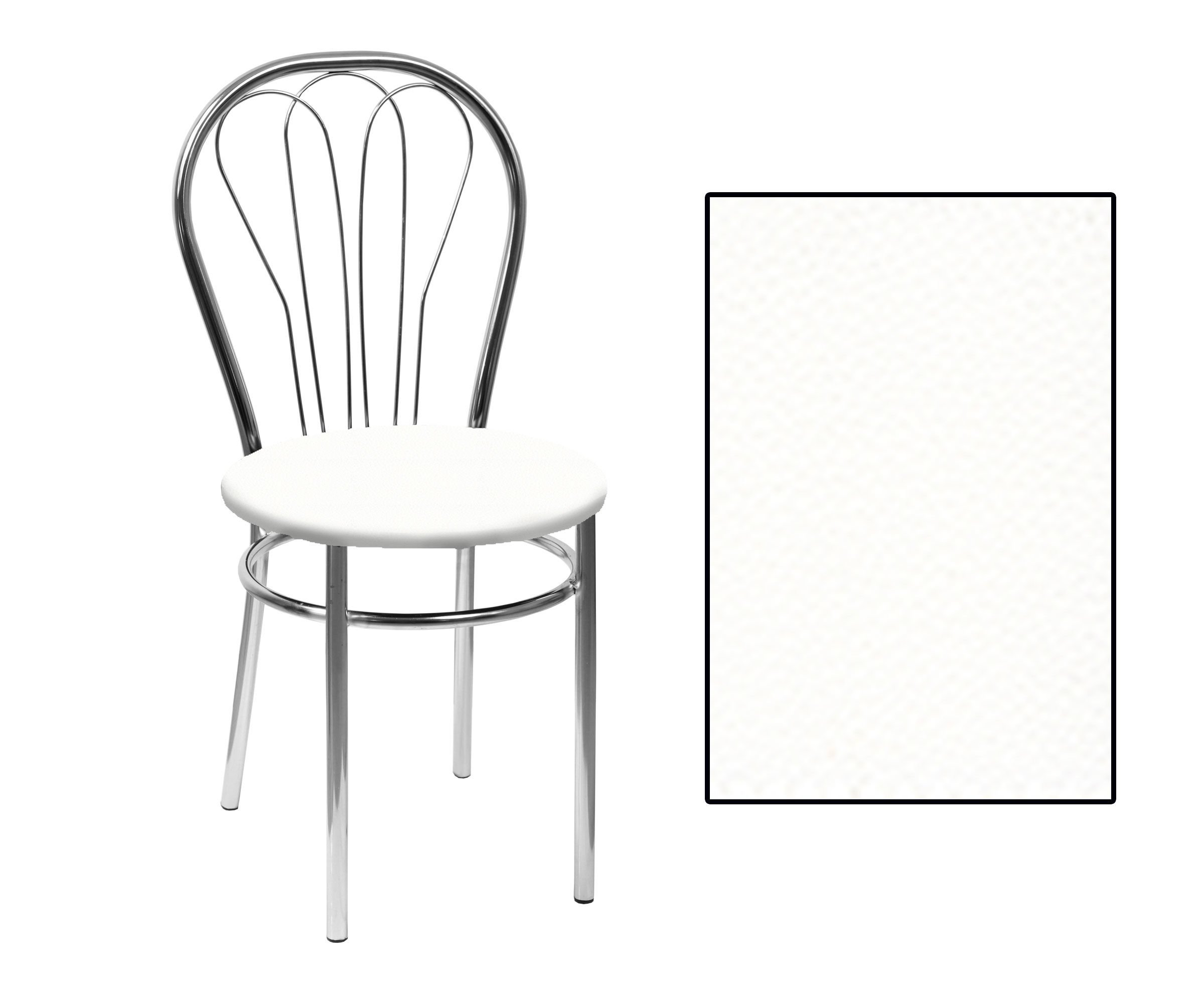 Skn Krzesło Białe Jowisz