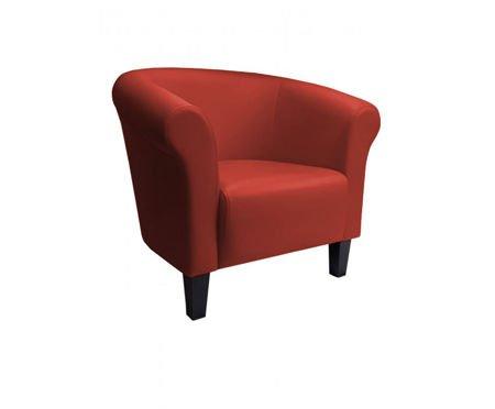 DZIECIĘCY Fotel MALIBU ceglasty