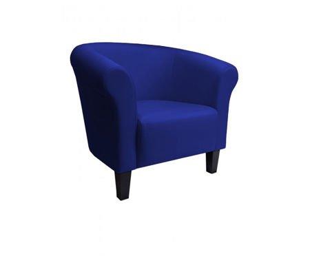 DZIECIĘCY Fotel MALIBU granatowy