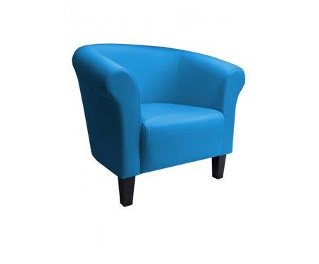 DZIECIĘCY Fotel MALIBU niebieski