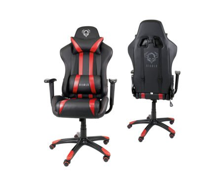 Fotel Gamingowy Diablo X-One Czarno-czerwony