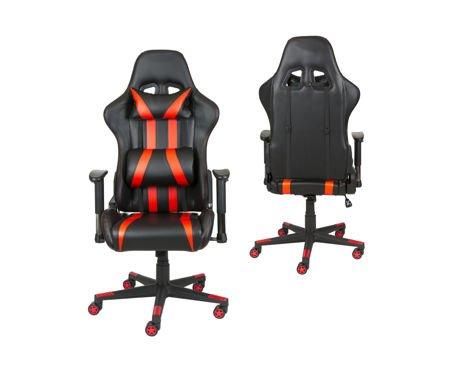 Fotel Gamingowy Scorpion Czerwony SKG001 C