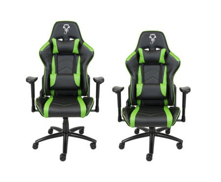 Fotel Gamingowy Scorpion Zielony SKG004 Z