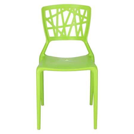 Krzesło Bush zielone