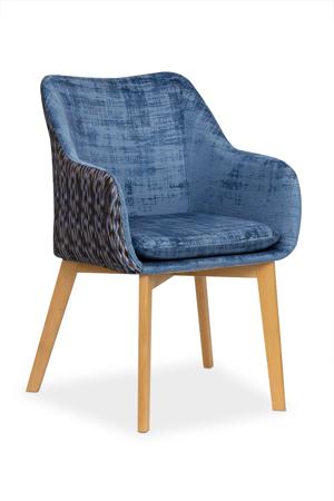 Krzesło DIAMENTE niebieski/ DV1058