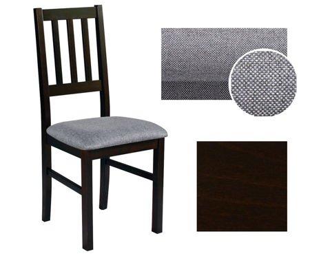 Krzesło drewniane KONWALIA Wenge Tkanina 10