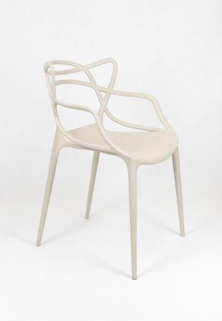 SK Design KR013 Beżowe Krzesło