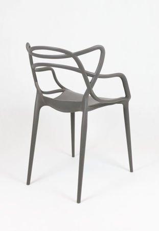 SK Design KR013 Grafitowe Krzesło