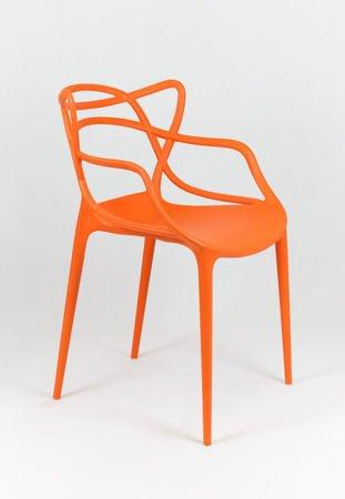 SK Design KR013 Pomarańczowe Krzesło