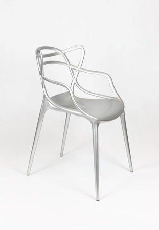SK Design KR013 Srebrne Krzesło