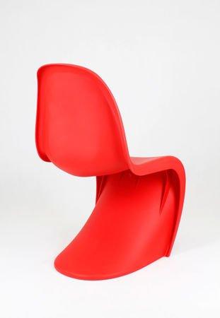 SK Design KR017 Czerwone Krzesło Mat