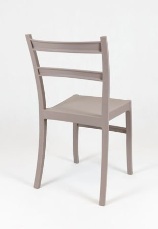 SK Design KR032 Kawa z Mlekiem Krzesło Polipropylenowe Retro