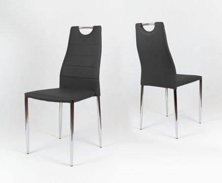 SK Design KS005 Czarne Krzesło