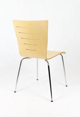 SK Design SKD001 Drewniane Krzesło Naturalne