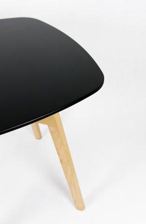 SK Design ST18 Czarny Stół 80 cm
