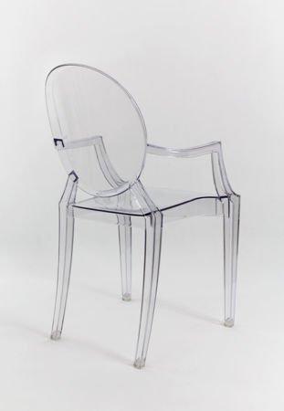 SK Design KR001 Transparentne Krzesło Ghost