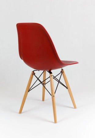 SK Design KR012 Ceglaste Krzesło - Nogi Buk