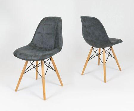 SK Design KR012 Tapicerowane Krzesło Eko