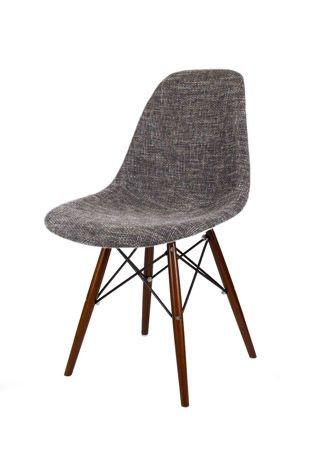 SK Design KR012 Tapicerowane Krzesło Lawa17, Nogi Wenge