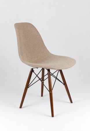 SK Design KR012 Tapicerowane Krzesło Muna03 Wenge