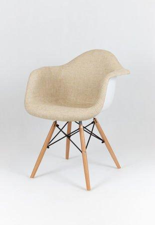 SK Design KR012F TBBE Beżowy Fotel Buk