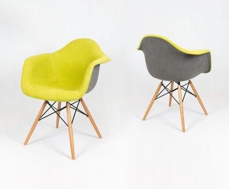 SK Design KR012F Tapicerowany Fotel Moric 10/7 Buk
