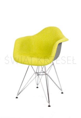 SK Design KR012F Tapicerowany Fotel Moric 10/7 Chrom