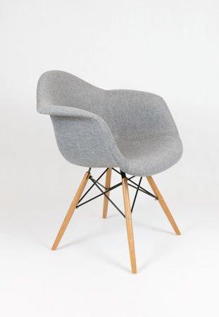 SK Design KR012F Tapicerowany Fotel Muna08 Buk