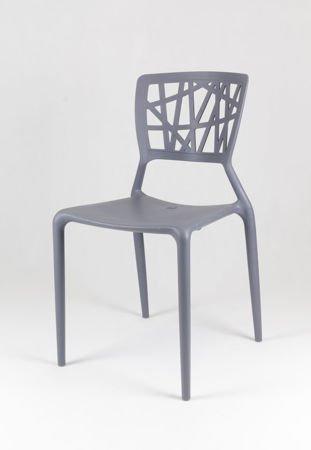 SK Design KR014 Szare Krzesło