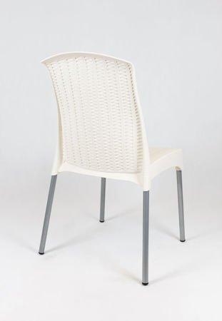 SK Design KR041 Kremowe Krzesło