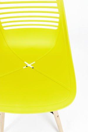 SK Design KR058 Żółte Krzesło