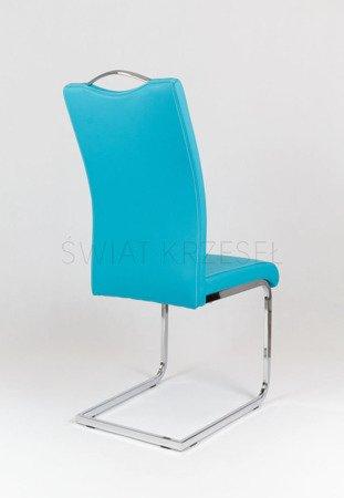 SK Design KS003 Turkusowe Krzesło