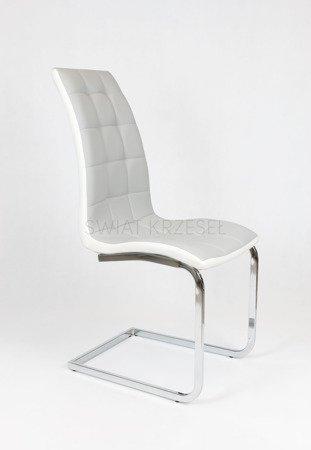 SK Design KS027 Jasnoszare Krzesło
