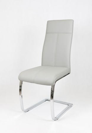 SK Design KS028 Jasnoszare Krzesło