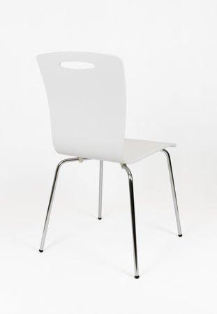 SK Design SKD002 Drewniane Krzesło Białe