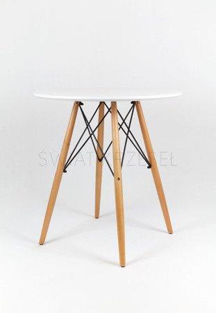 SK Design ST02 Stół Ø 80 cm biały