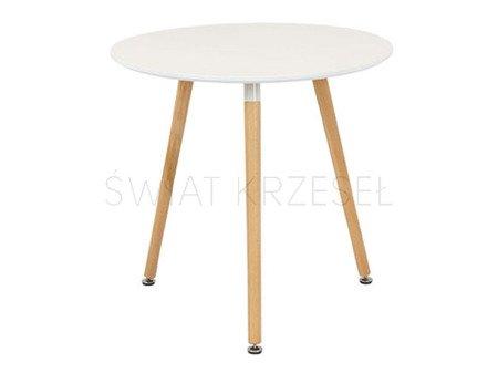 SK Design ST03 Stół Biały Ø 80 cm