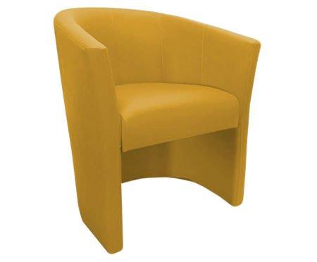 Żółty fotel CAMPARI